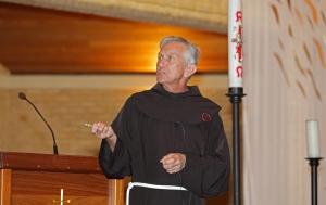 Father Justin Belitz OFM retreat