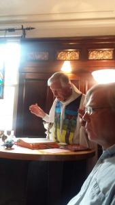 Franciscan Hermitage . Justin reading