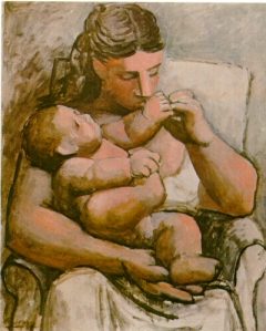 Picasso Mother and Child (1921)