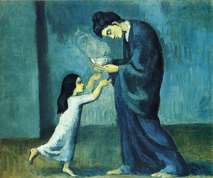 Pablo Picasso Religious Art Fr Justin Belitz Teachings - Picassos vintage light drawings pleasure behold